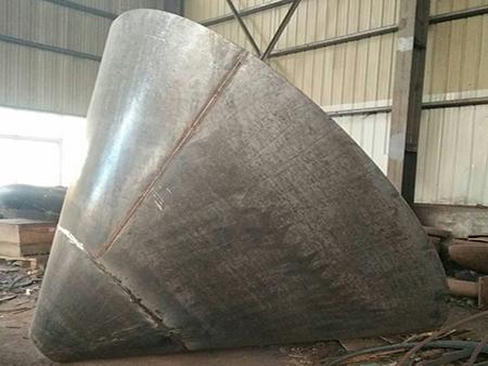 不锈钢锥形封头模具出现脱件的原因?