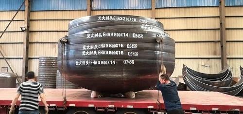 椭圆形封头是压力容器中常用的一种封头